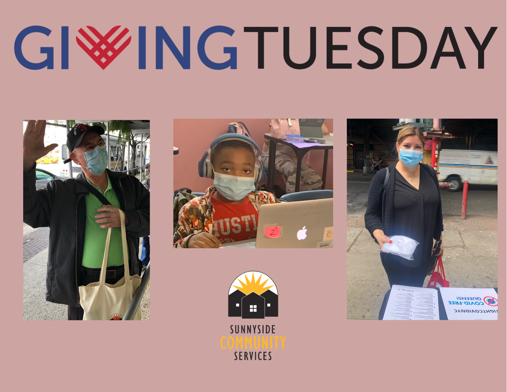 On Giving Tuesday, help Sunnyside Community Services continue to light up lives with programs as diverse as the people we serve.
