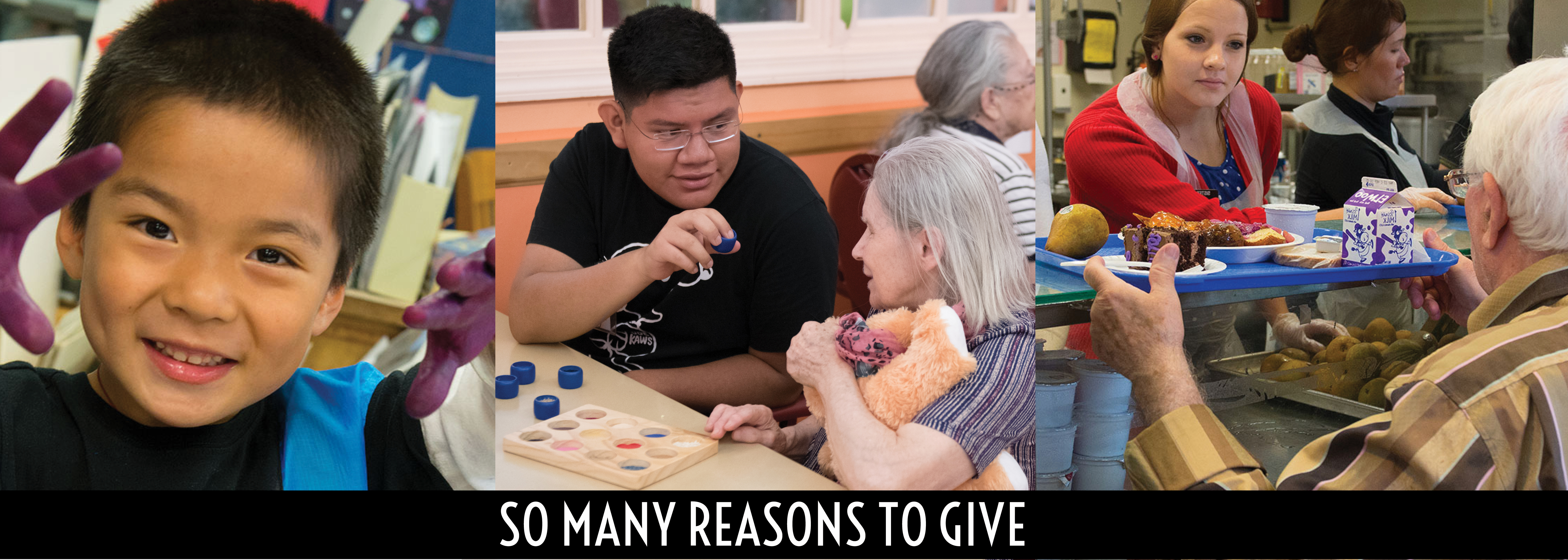 Please donate to Sunnyside Community Services.  There are so many reasons to give!