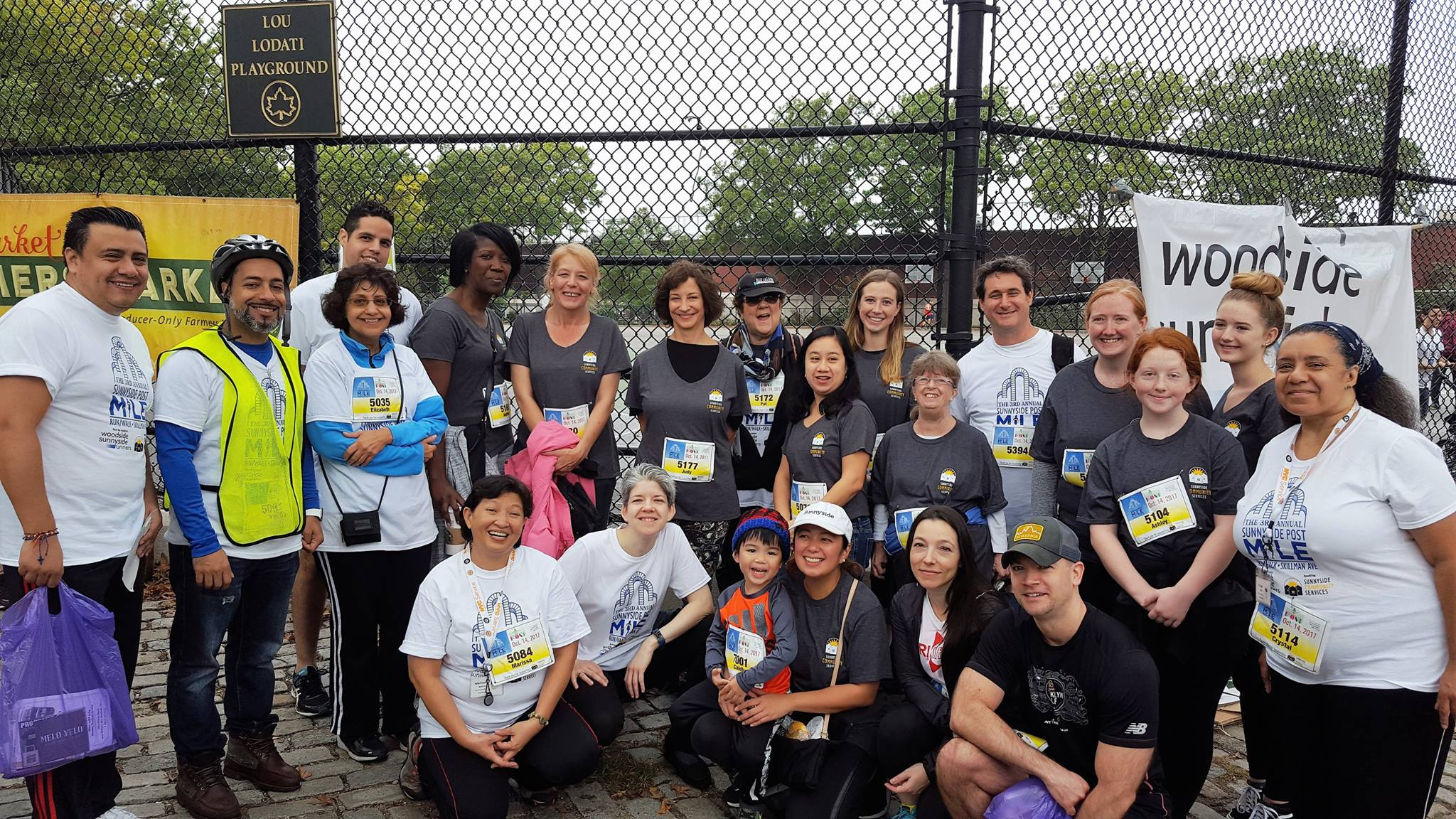 Sunnyside Community Services staff, board members, volunteers, family, and friends at the 3rd Annual Sunnyside Post Mile Run