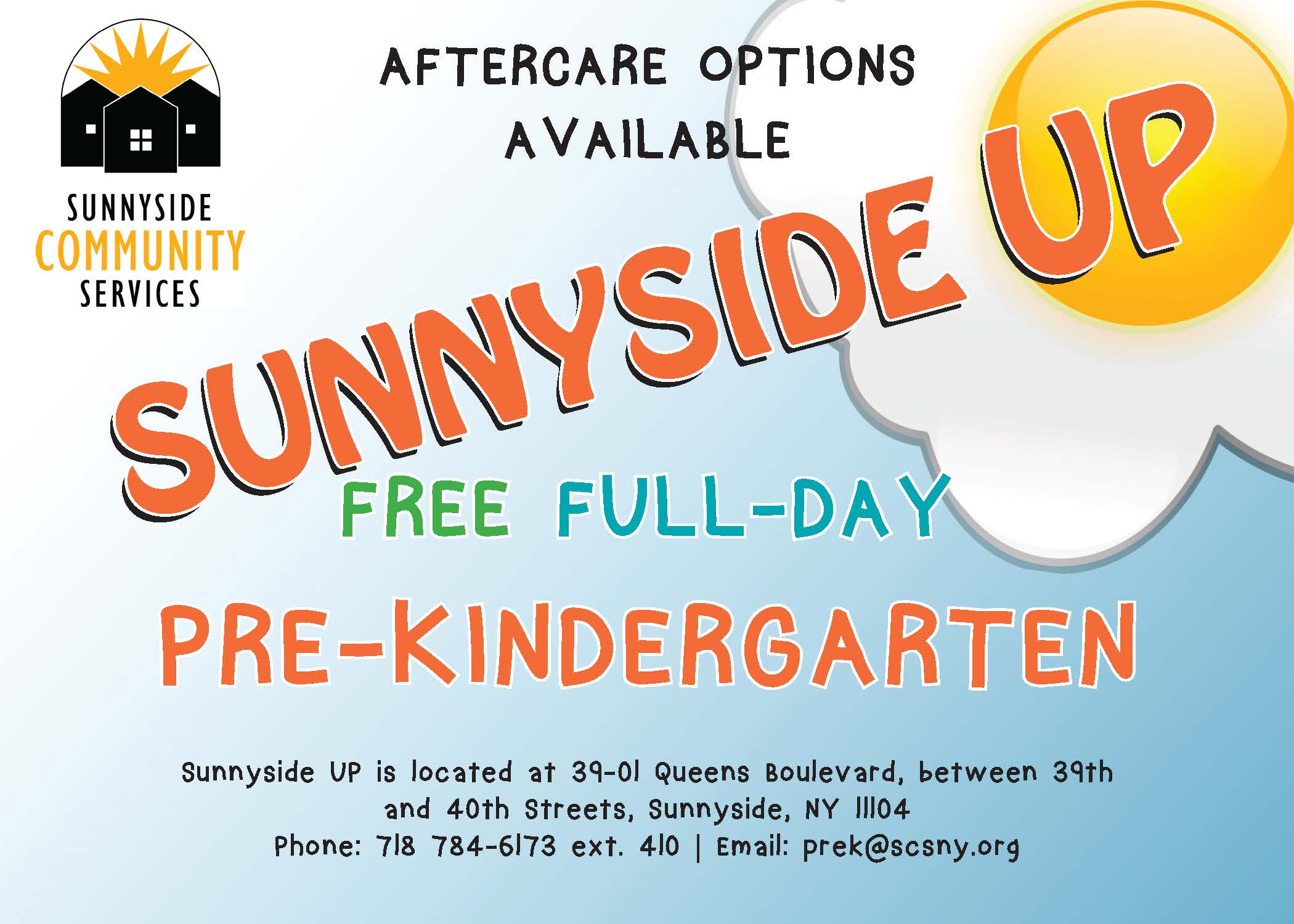 Enroll now for Free Pre-K Programs