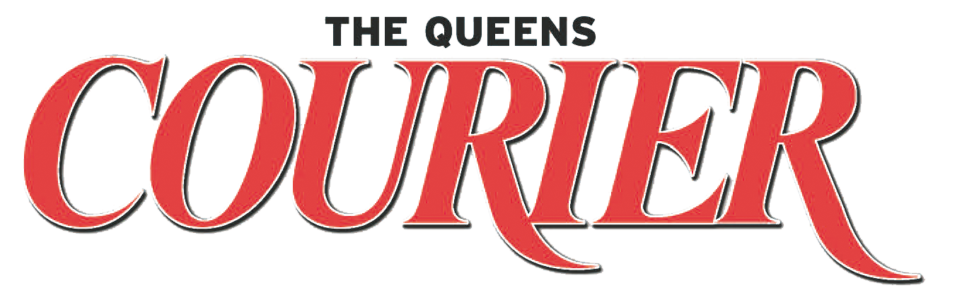 logo of the Queens Courier