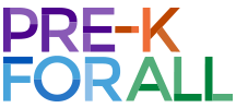 NYC DOE PRE-K FOR ALL LOGO