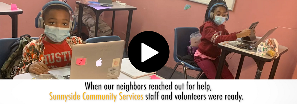 When our neighbors reached out for help, Sunnyside Community Services staff and volunteers were ready.