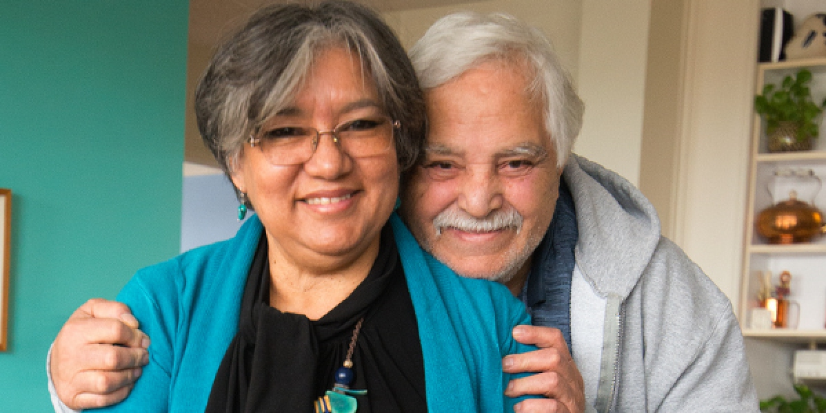 Care NYC caregiver and spouse