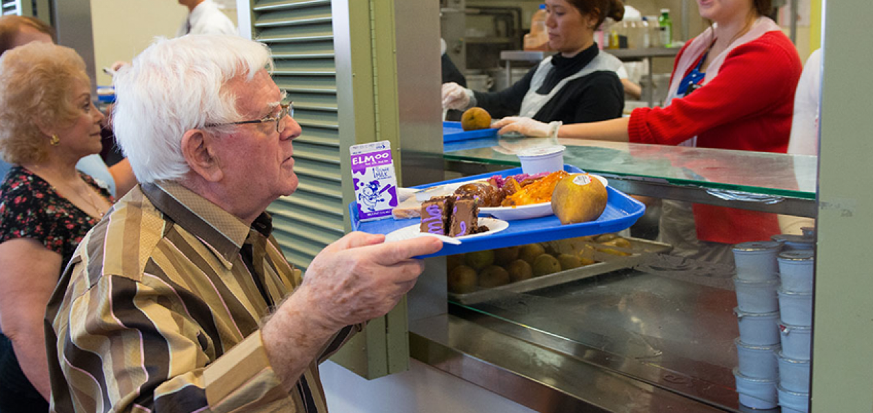 Food Program at Senior Program