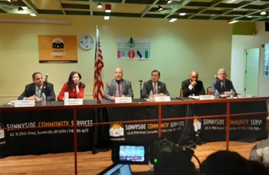 Queens Boro President Candidate Forum on 1.14.20