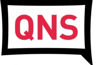 logo of the Queens Courier newspaper and website