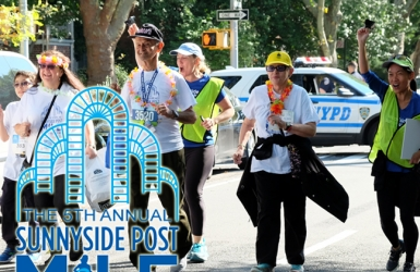 Two weeks to go for the 2019 Sunnyside Post Mile Run Walk on Ocrtober 5