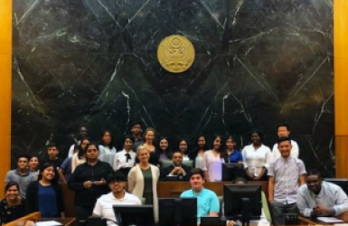 SCS Youth Futures Students visit Court July 2018