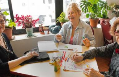 Women Involved with our Senior Programs
