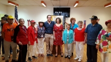 senator Michael Gianaris at Sunnyside Community Services, July 2019