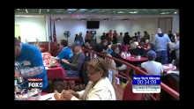 Screenshot from Fox 5 New York Minute at Sunnyside Community Services