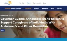 Governor Cuomo support for families