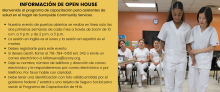 Open House Information for Spanish Speakers wishing to obtain home health aide certification.