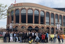Students go to Citi Field for Career Day